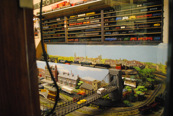 Tri-ang model train collection at the Milton-Keynes Model Railway Society