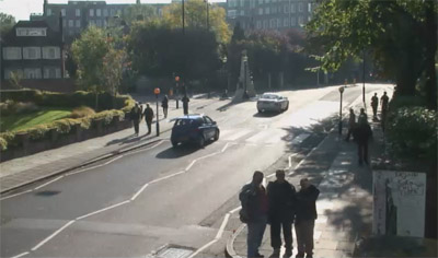Us watching you watching us, taken from the Abbey Road webcam