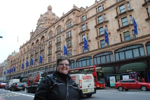 Harrods and keen shopper