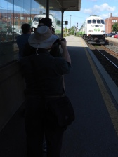 Our CRHA photo line at Brampton